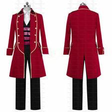 Kaizoku Sentai Gokaiger Flying Ghost Ship Captain Gokai Red Cosplay Costume !q'w