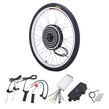 36V 500W Electric Bike Conversion Motor Kit w/ Front Wheel Dual Mode Controller