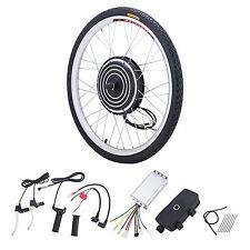 36V 500W Electric Bike Conversion Motor Kit w/ Front Wheel Dual Mode Controller