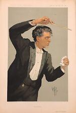 Original Vanity Fair Print 1912 'The Intermezzo' Signor Mascagni - Music