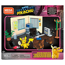 Mega Construx Pokemon Detective Pikachu Office Building Set NEW IN STOCK