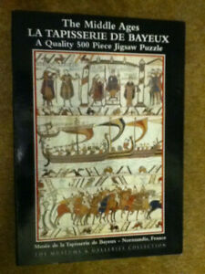 The Middle Ages, Tapisserie de Bayeux Jigsaw 500bit, Museum/Gallerie collection