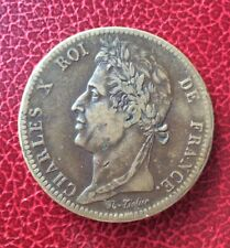 France - Colonies Françaises - Charles X - 10 Centimes 1827 H -Pour les Antilles