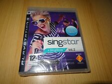Singstar Vol. 2 - Playstation 3 - New - Sealed - pal version