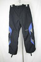 SPYDER XT Kids Size 16 Black Blue Insulated Winter Ski Snow Snowboard Pants
