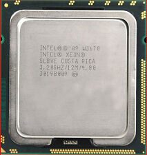 Intel Xeon W3670 3.20Ghz LGA 1366 SLBVE 6-Core 12MB 4.8 GT/s Processor Tested