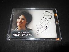 Spike Buffy Autograph Trading Card K.D Aubert as Nikki Wood (Holder)