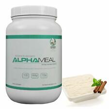 Alpha Meal Grass-Fed Whey Isolate Protein Powder 900g -Cinnamon Ice Cream Flavor