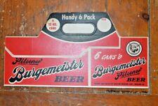 Burgemeister Beer Handy 6 Pack Holder Un-Used