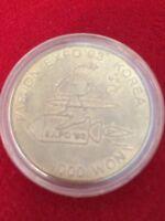 South Korea Taejon Expo'93 1000 Won Silver 13 Gr