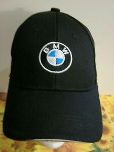 Casquette BMW  logo brodé Casquette Noir Réglable baseball cap ,Neuf