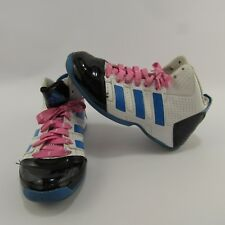 Adidas Commander TD 3 Basketball Shoes Size 4 Sneakers High Tops Youth Kids