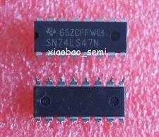 10PCS SN74LS47N 74LS47 HD74LS47P DIP-16 IC TI