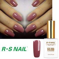 RS Nail Gel Nail Polish UV LED Varnish Soak Off Hybrid Gel Colour 0.5fl.oze