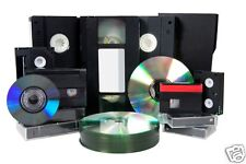 5 X VHS/VHS C/8mm/Hi 8/Digital 8/Mini DV TO DVD DISK - 5 Tapes To DVD Transfer