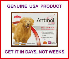 Antinol® for Dogs - Daily Joint Care Supplement Softgels 60 ct Box USA Version