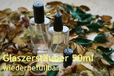 Parfum-Flakon - 50ml mit Zerstäuber - ovale Form - nachfüllbar/leer - NEUl