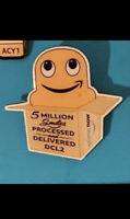 Amazon Peccy Pin 5 Million Smiles Processed And Delivered Prime Now Pin