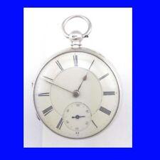 Silver Fusee Bernstein of Manchester Rare Bi-Metal Balance Pocket Watch 1877