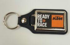 KTM Rectangle Medallion Keyring, Brand New