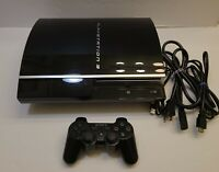 Sony PlayStation 3 PS3 Model - CECHK01 120gb PS1 compatible  very clean cond.