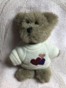 Boyds Bears Plush Mini Message Bear ~ Lottsa Luv