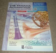 The Yamaha Advantage Trumpet Book 1 Pt-Ybm111-24 New Free Shipping