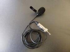 Lavalier Condensateur Microphone adapté pour Sennheiser EW 100*300*500