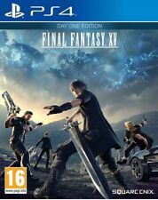Final Fantasy XV  Day One Edition - PS4 - New & Sealed. QUICK POSTING