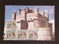 SPAIN MK 1966 CASTILLO BURG CASTLE MAXIMUMKARTE CARTE MAXIMUM CARD MC CM c5428
