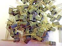 10 Pieces | 2N3415 NPN Transistor NOS Equiv: NTE123A ECG289A | FREE US Shipping