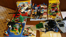 LEGO 80s 8 Complete Sets 2 Boxes Manuals 6891 6260 6257 6685 6811 6679 6235 6529