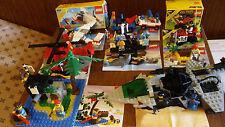 LEGO Vntage 8 Complete Sets 6891 6260 6257 6685 6811 6679 6235 6529 Instructions