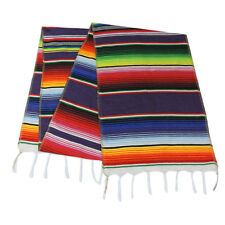 Mexican Serape Table Runner for Dining Room Wedding Party Tablecloth Home Decor