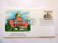 """June 4th, 1979 """"The Boston State House"""" First Day Issue"""