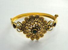 Gold Bangle 22k Solid Gold Cuff Bracelet fine handmade jwellery traditional