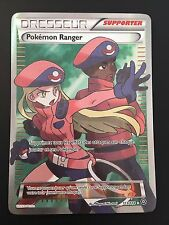 Carte Pokemon POKEMON RANGER 113/114 EX Full Art XY4 Française NEUF
