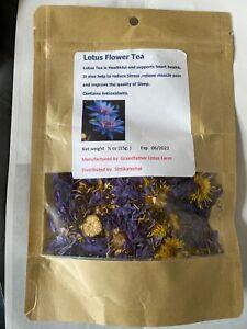 Relax anti-stress Sleep Tea Lucid Dream Euphoric Blue Lotus Dried Flower 15g