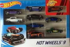 Hot Wheels Diecast Toy Car Set - 9 Car Set - Inc. Ford Mustang & Trans Am