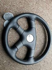 Antera leather steering wheel NEW 1994  365mm bbs e30 vw mk2 gti nardi momo 202