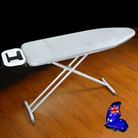 3 Sizes Universal Coated Ironing Board Cover & 4mm Pad Thick Reflect Heat Silver
