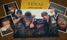 TEXAS HIPPIE COALITION Autographed Photo -Hot- Real Collectible
