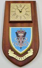 KIRKEE BATTERY ROYAL ARTILLERY HAND MADE TO ORDER REGIMENTAL WALL CLOCK