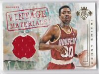 2016-17 Kenny Smith #/149 Panini Court Kings Vintage Materials Houston Rockets