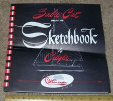 SABRE CAT MODEL 18 Sketchbook by CREGER CATAMARAN Dealer Stamped Sales Brochure