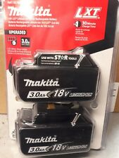 NEW  Makita BL1830B-2 Lithium-Ion 3.0Ah 18V LXT Battery 2 Pack