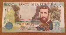 Colombia Banknote. 5000 Pesos. Uncirculated.