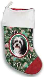 Tibetan Terrier Christmas Stocking
