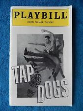 Tap Dogs - Union Square Theatre Playbill - July 1997 - Billy Burke - Stroming