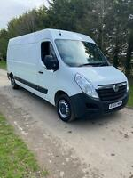 65 Vauxhall Movano F3500 long mot no vat drives well 6 speed clean fsh hpi clear